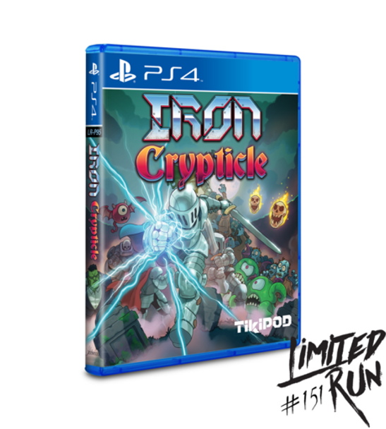 Iron Crypticle - Limited Run (Playstation 4)