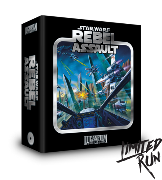 Star Wars: Rebel Assault Premium Edition - Limited Run (Sega CD)
