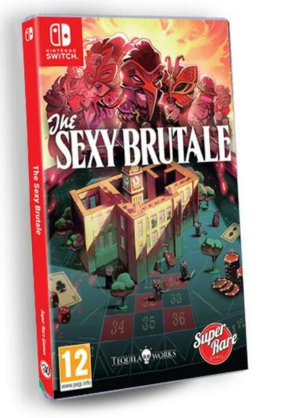 The Sexy Brutale - Super Rare Games (Nintendo Switch)