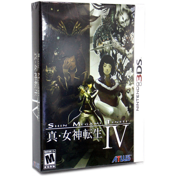 Shin Megami Tensei IV - Limited Edition - (Nintendo 3DS)