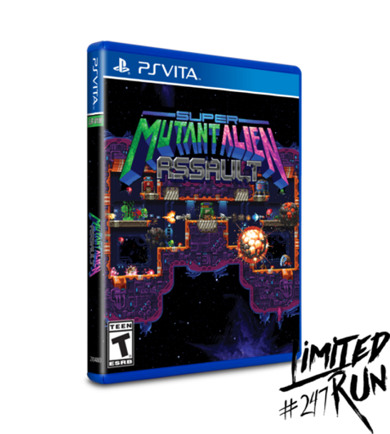 Super Mutant Alien Assault - Limited Run (PlayStation Vita)