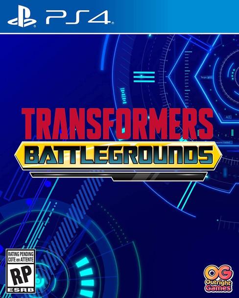 Transformers: Battlegrounds - (PlayStation 4)