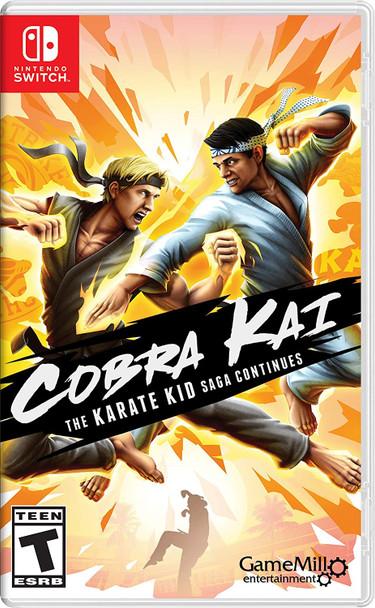 Cobra Kai: The Karate Kid Saga Continues (Nintendo Switch)