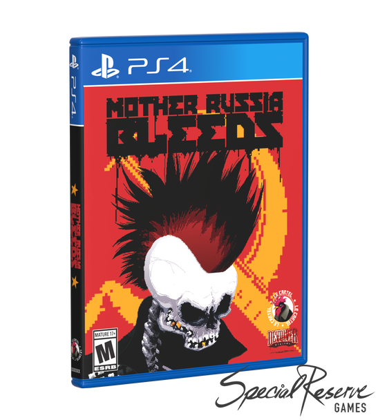 Mother Russia Bleeds - Exclusive variant - Limited Run (Playstation 4)