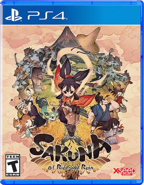 Sakuna: Of Rice and Ruin -(PlayStation 4)