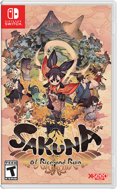 Sakuna: Of Rice and Ruin - (Nintendo Switch)