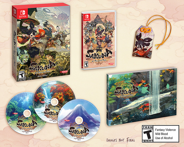 Sakuna: Of Rice and Ruin: Divine Edition (Nintendo Switch)