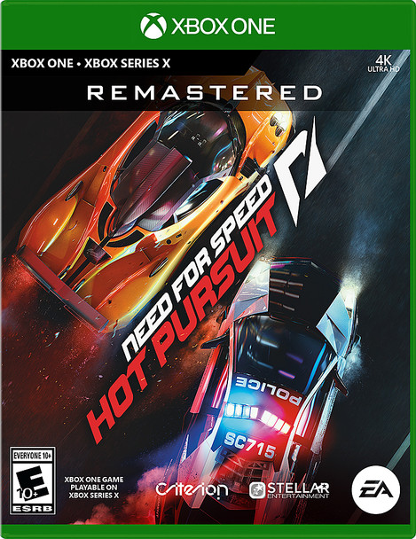 Need for Speed: Hot Pursuit Remastered - (Xbox One, Xbox Series X)