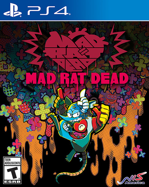 Mad Rat Dead PS4 Game - (PlayStation 4)