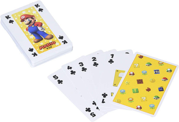 Nintendo Japan Mario Playing Cards Set Character Illustrations (POKER CARDS) NAP-05