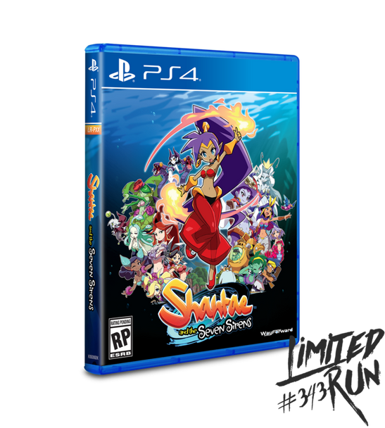 Shantae and the Seven Sirens - Limited Run (Playstation 4)