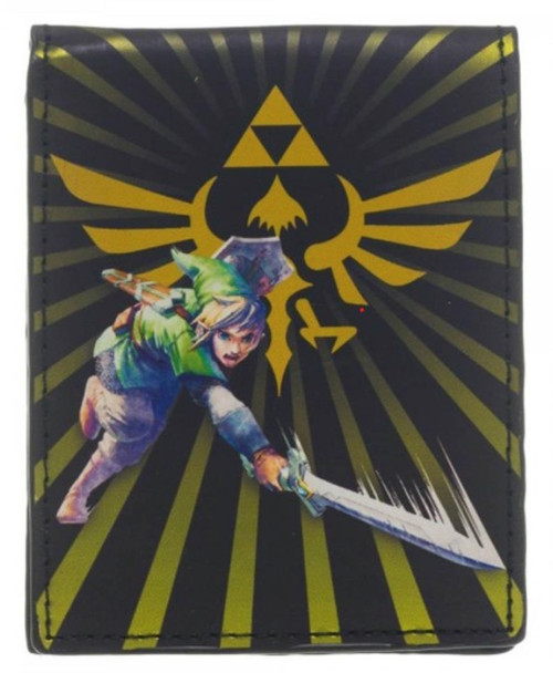 The Legend of Zelda Skyward Sword: Link Slash & Burst Bifold Wallet by Bioworld