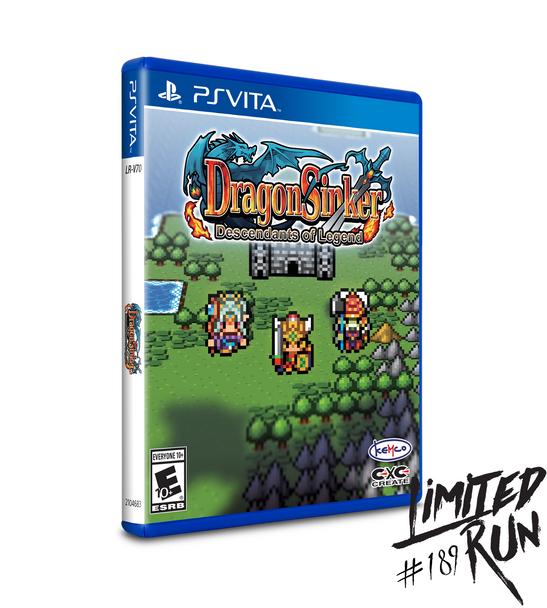 Dragon Sinker Descendants of Legends (Playstation Vita)