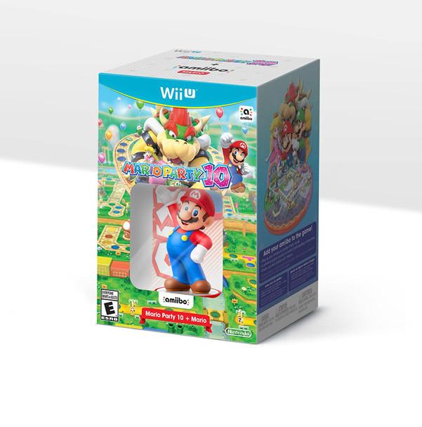 Mario Party 10 + Mario amiibo Bundle - Wii U