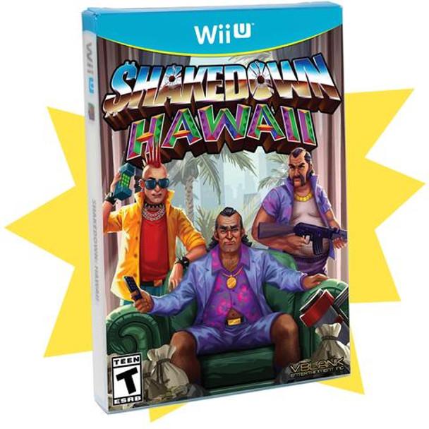 Shakedown Hawaii Limited Edition (Wii U)