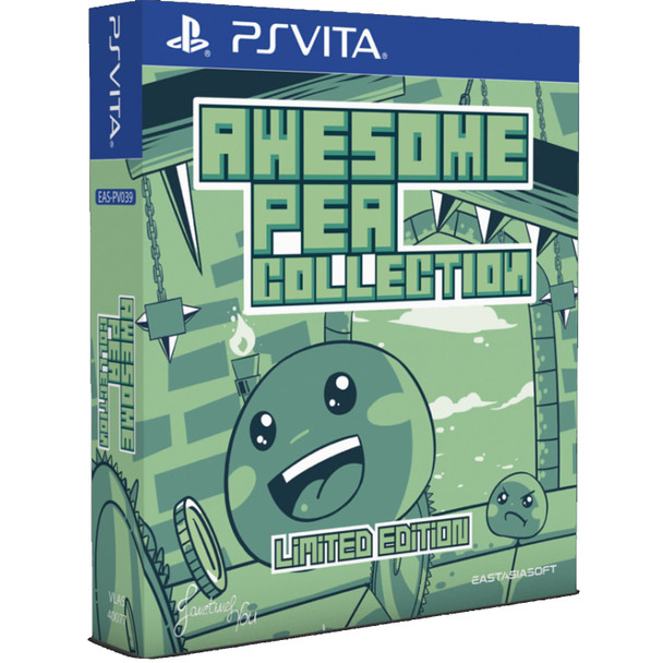 Awesome Pea Collection [Limited Edition] (Asian Import) PlayStation Vita