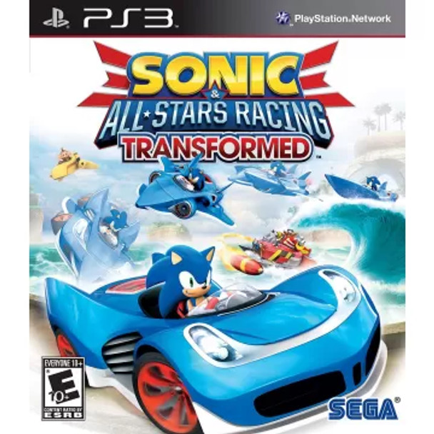Sonic & All-Stars Racing Transformed- Playstation 3