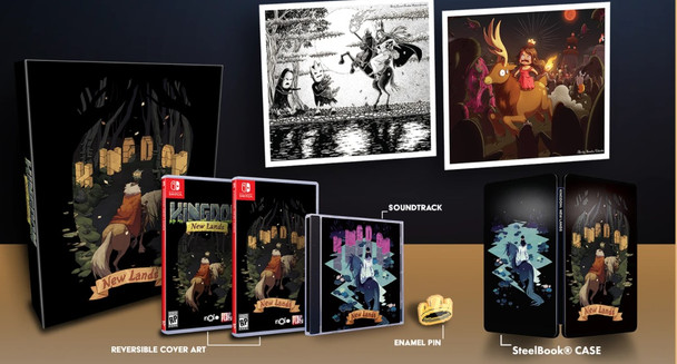 Kingdom New Lands Collector's Edition - Limited Run - Nintendo Switch