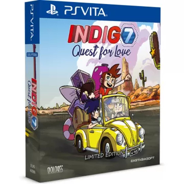 Indigo 7: Quest for Love [Limited Edition] PlayStation Vita English Multi Language