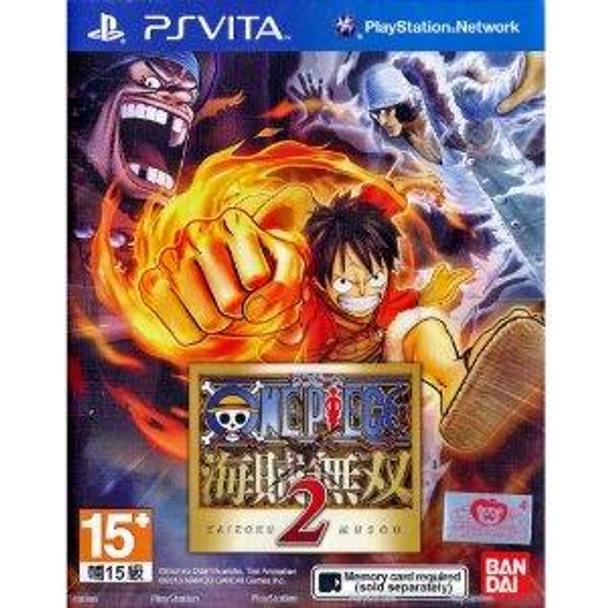 One Piece 2 (asian version), PlayStation Vita, VideoGamesNewYork, VGNY