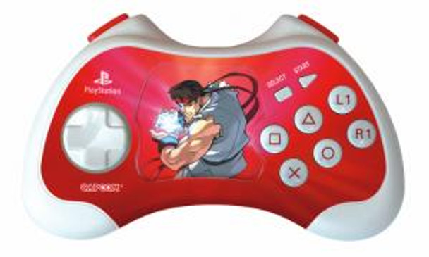 """PS2 """"Ryu """" Street Fighter Anniversary Edition Controller"""