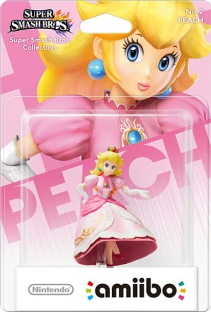 Peach Amiibo - Japan Import