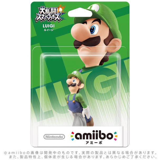 Luigi Amiibo  - Japan Import