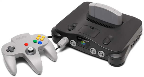 Nintendo 64 System w/ Official Controller