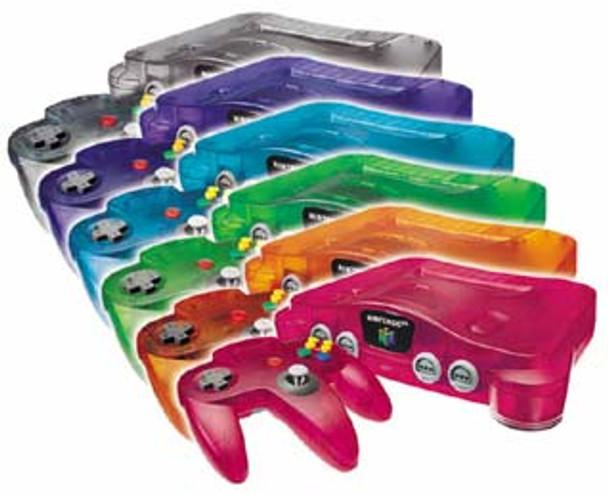 Nintendo 64 System FUNTASTIC Editions