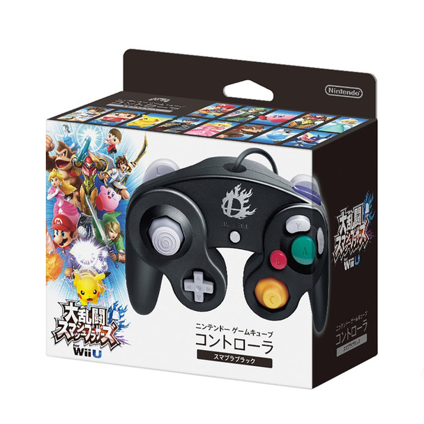 Nintendo Super Smash Bros. Black Gamecube Controller