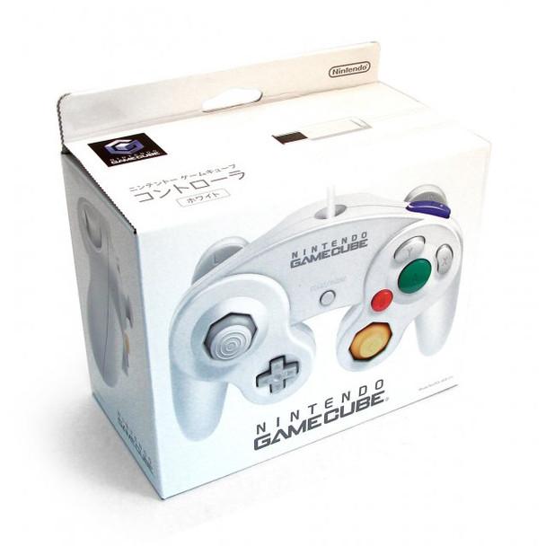 Nintendo Wii GameCube Controller - WHITE