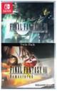 Final Fantasy VII & Final Fantasy VIII REMASTERED - TWIN PACK  (Nintendo Switch) [ENGLISH MULTI LANGUAGE] Japanese Cover Version