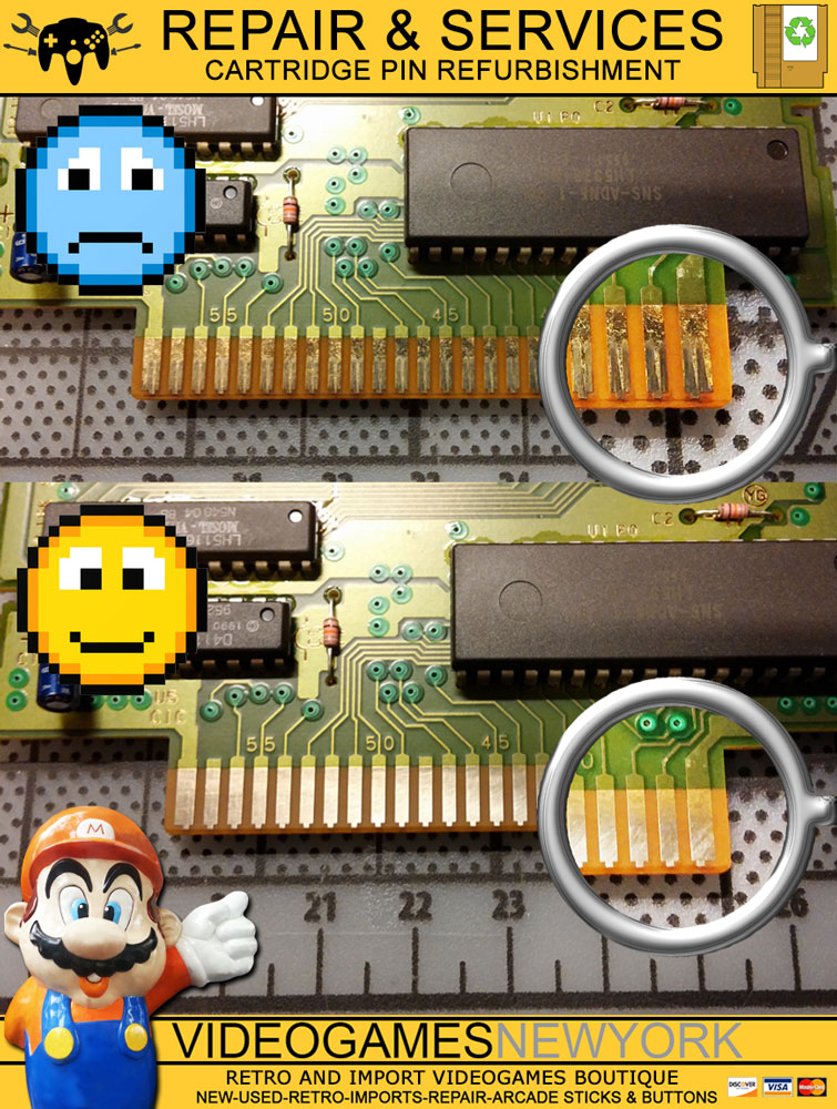 Pin Repair and Battery Replacement