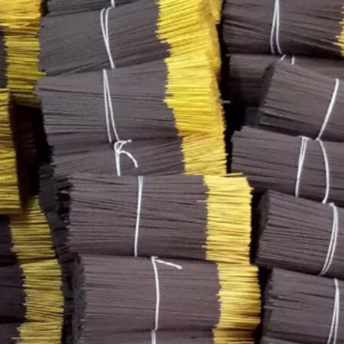 Almond Scented Charcoal Fragrance / Incense Sticks (sticks 0096) - 10' Hand dipped Charcoal incense sticks with a burn time of approximately 60 minutes.