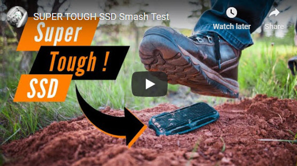 SUPER TOUGH SSD Smash Test