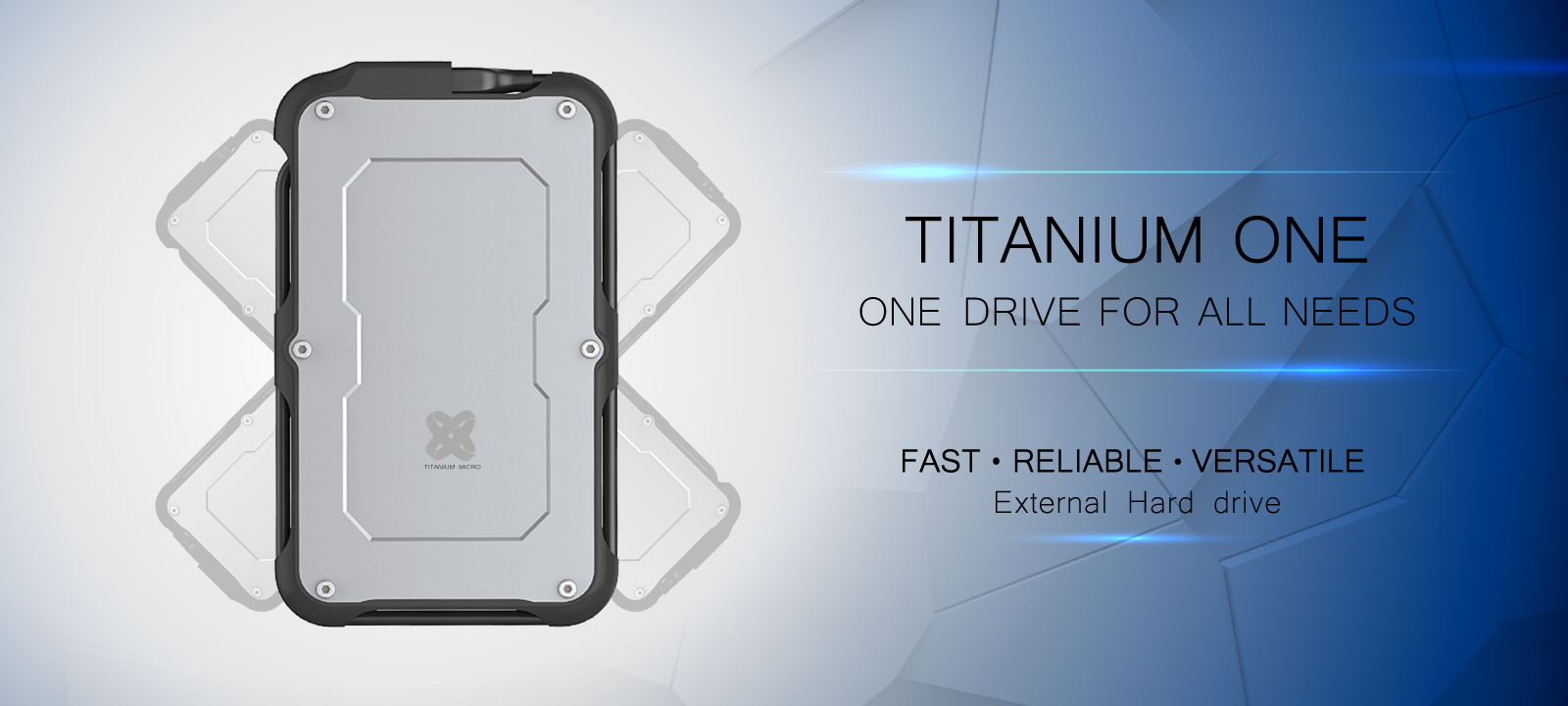 Tough external ssd titanium one fast reliable versatile external hard drive one drive for all needs