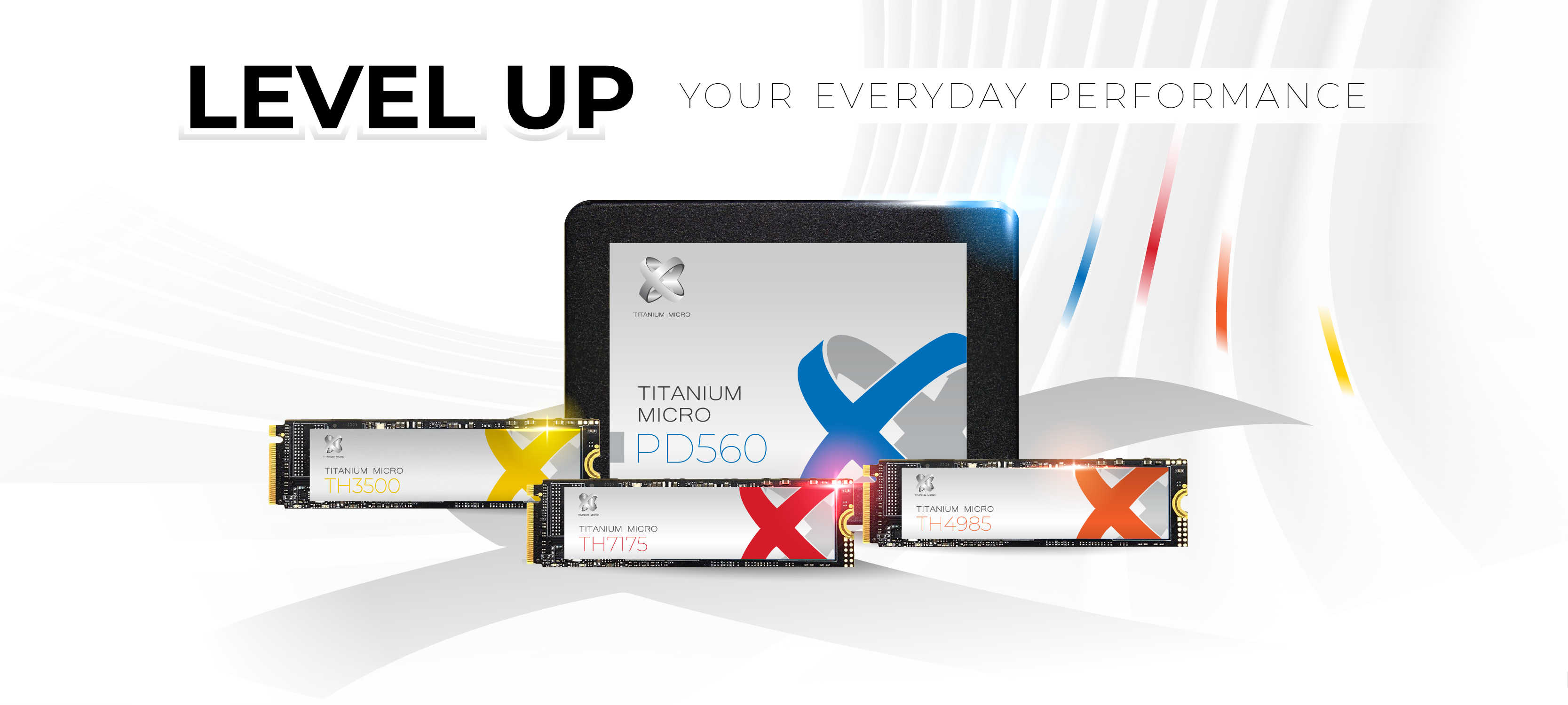 Titanium micro Internal SSD High speed Storage LEVEL UP YOUR EVERYDAY PERFORMANCE