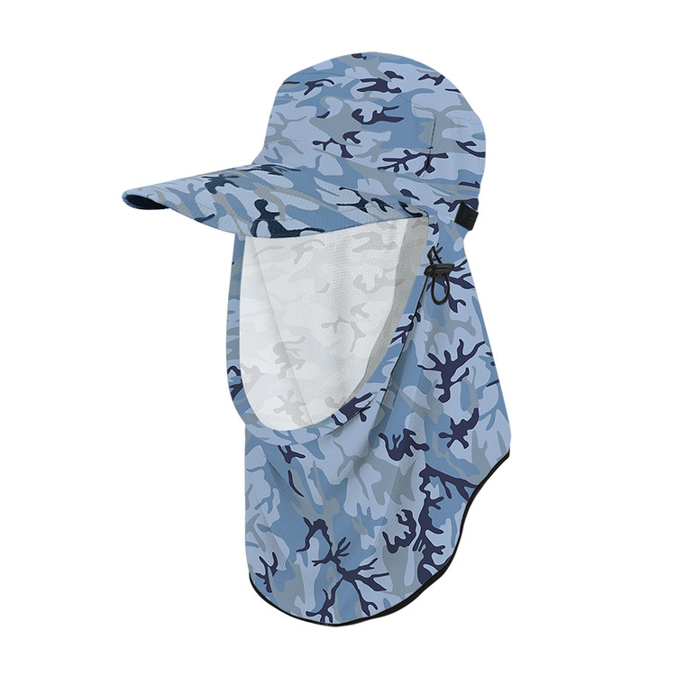 Adapt-A-Cap Marine Camo UPF50+ Sun Protection Hat