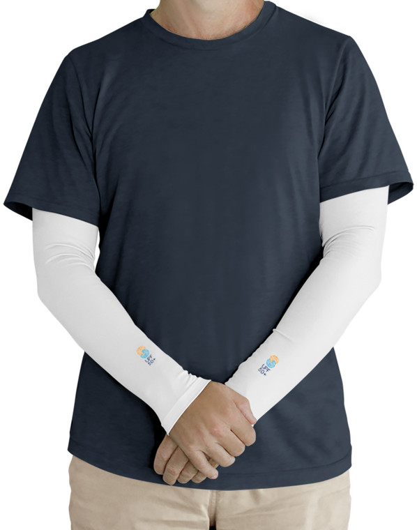 Sleeve White UPF50+ Sun Protection
