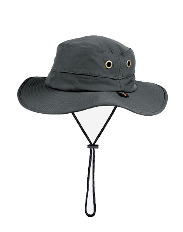 Boonie Hat Charcoal UPF50+ Sun Protection