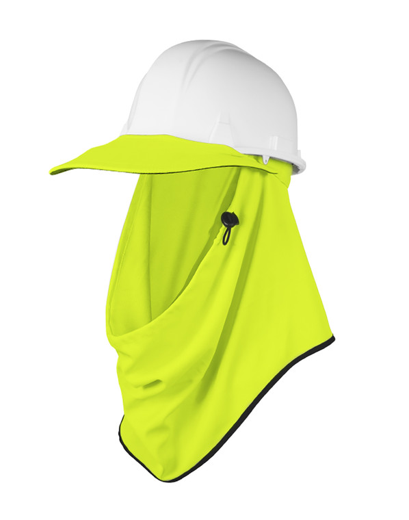 Protecta Fluro Yellow UPF50+ Sun Protection