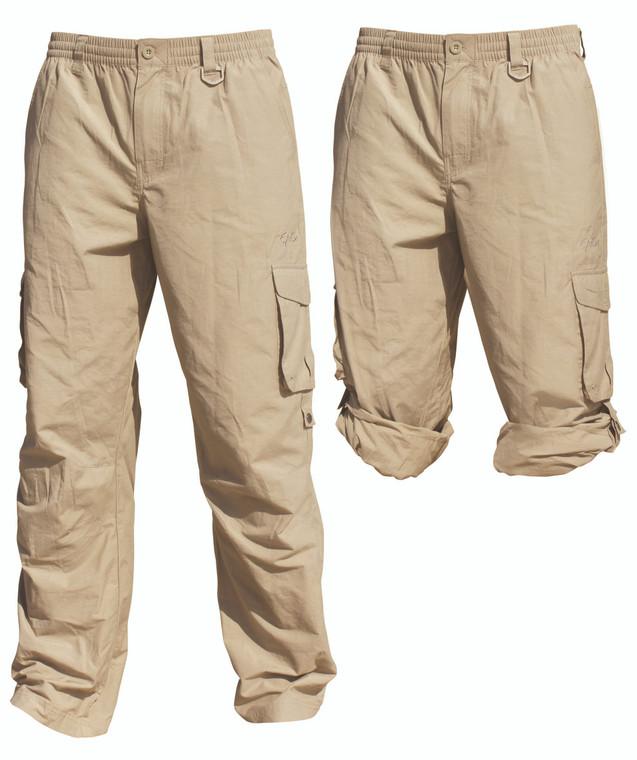 Cargo Pants Stone UPF50+ Sun Protection
