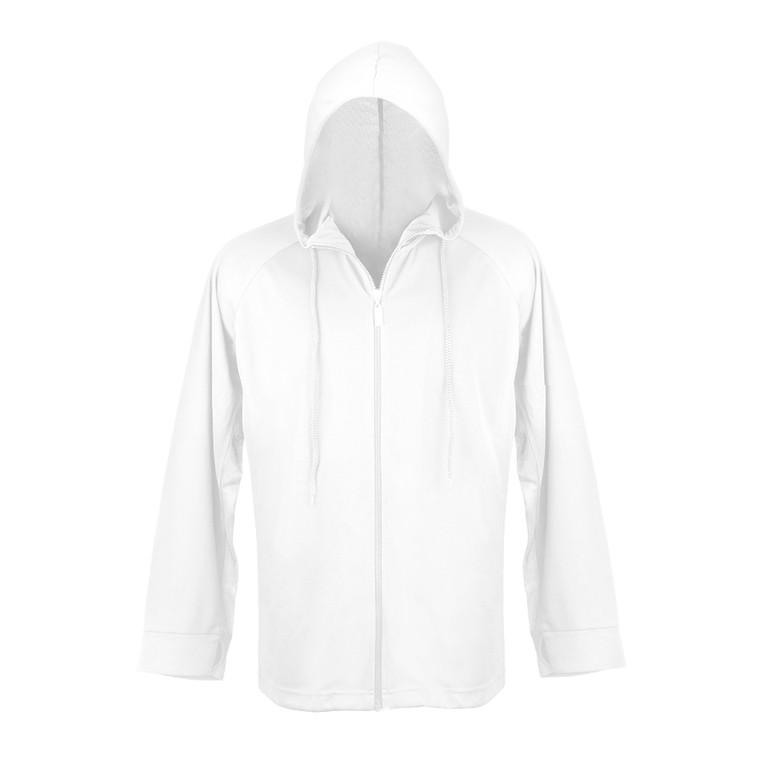 Hoodie White UPF50+ Sun Protection