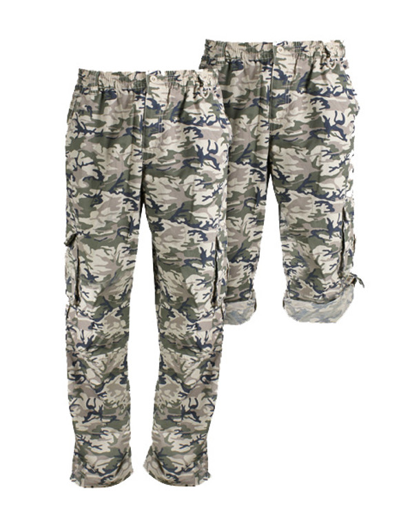 Sand Camo Cargo Pants UPF50+ Sun Protection