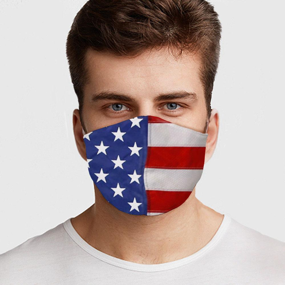 American Flag Preventative Face Mask