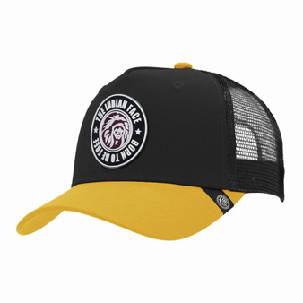 Trucker Cap Born To Be Free Black The Indian Face For Men And Women