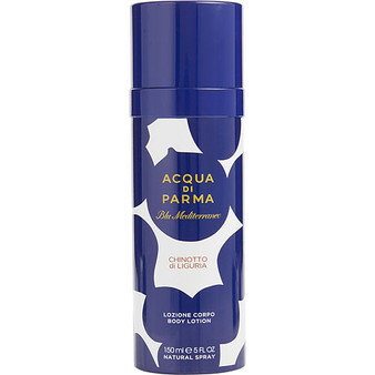 Acqua Di Parma Blue Mediterraneo By Acqua Di Parma Chinotto Di Liguria Body Lotion Spray 5 Oz