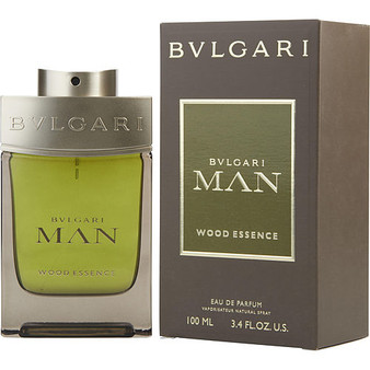 Bvlgari Man Wood Essence By Bvlgari Eau De Parfum Spray 3.4 Oz