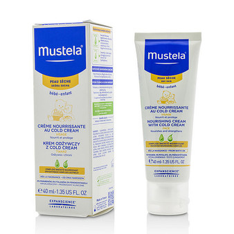 Mustela By Mustela Nourishing Cream With Cold Cream For Face (dry Skin) --40ml/1.35oz
