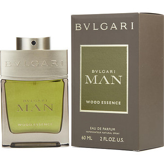 Bvlgari Man Wood Essence By Bvlgari Eau De Parfum Spray 2 Oz